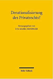 Denationalization of Private Law